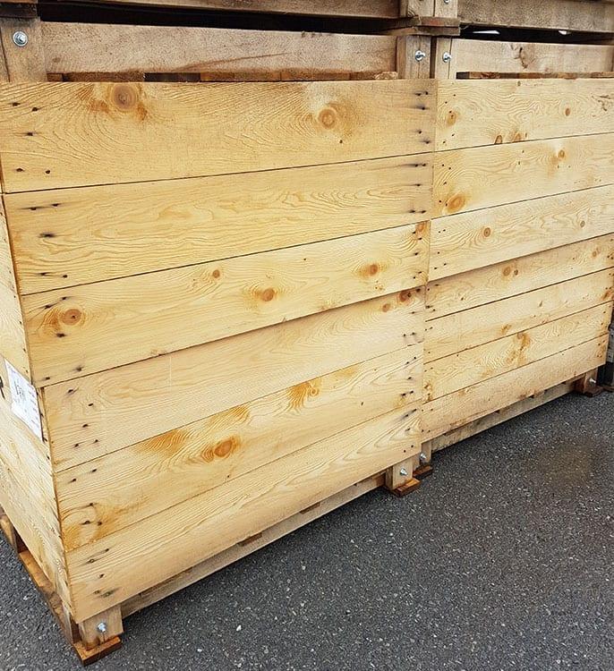 GCharland bloc boucher Boite transport fruit legumes poutre bois escaliers rive-sud bois allumage monteregie quebec